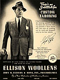 1940s mens costumes fashion