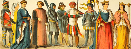 medieval costumes fashion