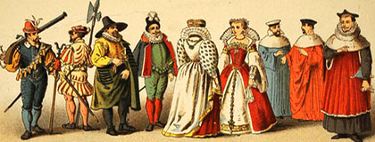 renaissance costumes fashion