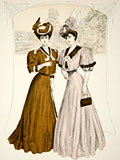 chromolithograph costumes fashion